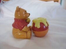 Vintage Winnie The Pooh and Hunny Honey Pot Salt and Pepper