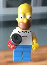 Lego The Simpsons, dimensiones: Homero Simpson separa de nivel paquete: 71202