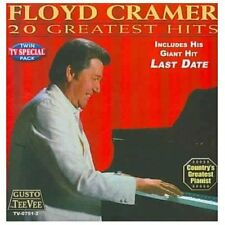 20 Greatest Hits by Floyd Cramer (CD, Feb-2013, Teevee Records)
