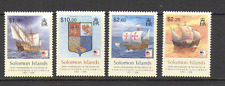 Solomons 2006 Columbus/Ships/Boats/Sailing/Exploration/Transport 4v set (n16021)