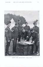 1896 Militia Settling Accounts Advance Fatigue Party Military Cyclists Scouts