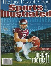 SPORTS ILLUSTRATED MAGAZINE AUG 5, 2013, WALKING IN THE SHOES OF JOHNNY FOOTBALL