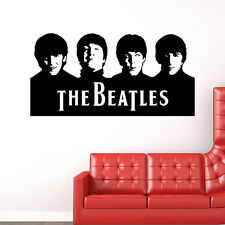 The Beatles Removable Wall Stickers Living Room Mural Decals DIY Home Decor Art