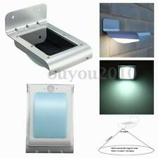 24 LED Solar Power Outdoor Wall Lamp PIR Motion Sensor Security Light Waterproof