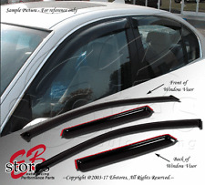 Vent Shade Window Visor 4DR Chevrolet Chevy Malibu 04-07 2004 2005 2006 2007 4pc