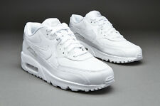 Nike Air Max 90 Essential White Trainer - size 9 UK BNIB