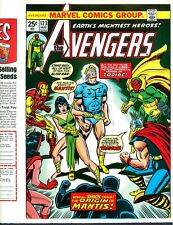 Avengers 123 COVER PROOF ART`74 Thor Vision Iron Man Black Panther Scarlet Witch