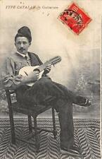 CPA 66 TYPE CATALAN GUITARISTE