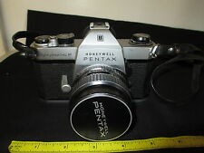 Honeywell Pentax Spotmatic F W/SMC 1:1.8 55mm Lens, WORKS