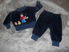 Vtg Frog Pond Kids 3M Holiday Christmas Drummer Boy Outfit Clothes Lot 3 Months