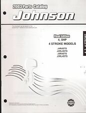 2003 JOHNSON OUTBOARD MOTOR 4 & 5 HP 4 STROKE PARTS MANUAL NEW  (905)