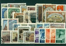 Russie - USSR  1949/51 -  Lot d'environ 30 timbres - SU086