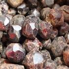 100g Natural Red Garnet Original Polished Healing Quartz Crystal Stones Specimen