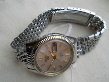 NEW OLD STOCK,1968 SUPERB SEIKO PRESIDENT, AUTO 21 JEWELS, GOLD/SS,SERVICED!