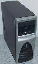 HP EVO W4000 Computer Intel P4 1,8GHz 512MB 40GB CD FDD Win 98 SE + XP PRO RS232
