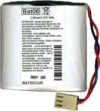 Batsecur BAT06 7,2V 5 Ah Batteria al Litio