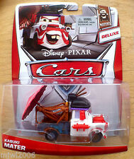 Disney PIXAR Cars KABUKI MATER on 2013 MATERS THEME CARD diecast 3/6 DELUXE