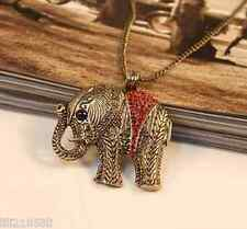 Ms. cute elephant jewelry retro fashion long necklace sweater chain