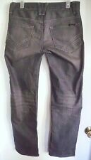 WILLIAM RAST Distressed Gray Jake Straight w/Fit Button-Fit Jeans Sz 30 Men's