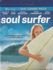 NEW Sealed BLU-RAY +DVD Pack! Soul Surfer: Story of Bethany Hamilton(Helen Hunt)