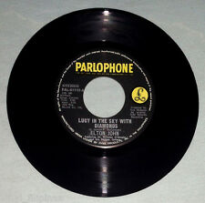 "PHILIPPINES:ELTON JOHN - Lucy In The Sky With Diamonds,7"" 45 RPM,OBSCURE,RARE!"