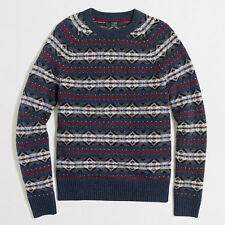 J. Crew FAIR ISLE SWEATER, Size S, Brand New with Tags, Free Shipping!