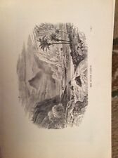 u1-3 ephemera 1890 religious book plate The River jabbok