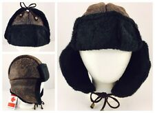 New With Tags - Parkhurst Canada Venetian Paisley Faux Fur Trapper Hat