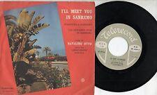 NATALINO OTTO disco 45 giri ITALY T'Aspetto a Sanremo STAMPA ITALIANA Promo