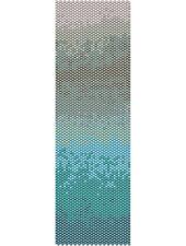 Blue Ombre  Peyote Cuff Beaded Bracelet Pattern by Karen Zumbrun