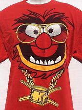 Vtg Animal The Muppets Jim Henson Electric Mayhem Drummer t shirt sz L