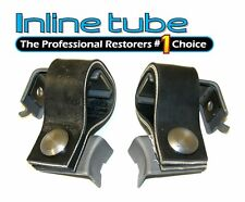 1964-72 GM A Body Rear tail pipe hangers Pair W- 31 & Non Cut Out Bumper OEM