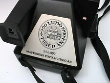 RARE Polaroid Supercolor 635CL 1000 years of LUND Sweden special edition camera