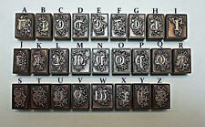 """OLD ENGLISH"" ALPHABET LETTERS."