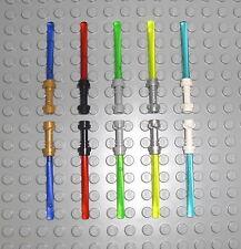 LEGO Star Wars - 10x Laserschwert Lichtschwert Light Saber Laser Schwert Waffe