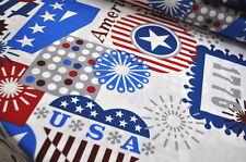 Alexander Henry USA Designerstoff 0,5 m AMERICA AMERIKA USA 4TH JULY UNITED