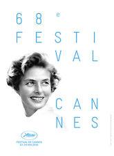 FESTIVAL CANNES 2015 Affiche Cinéma / Movie Poster 160x120 INGRID BERGMAN