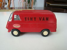 "Vintage Mini Metal Tonka Red ""Tiny Van""  Made in USA 1970's"