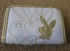 Playboy Logo GOLD Bunny with Shadow  Design Bifold Wallet Officially Licensed