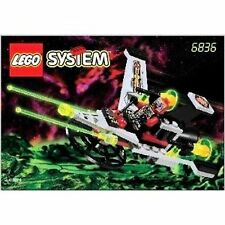 Older Vintage  Lego Space UFO V-Wing Fighter (6836)