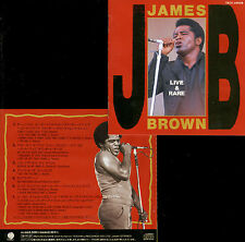 JAMES BROWN live & rare TEICHIKU RECORDS JAPAN