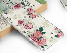 Flower Floral Protective Soft Case Skin Shell Back Cover for Apple iPhone 6 Plus
