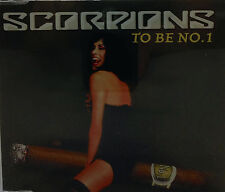 SCORPIONS - TO BE NO. 1 CD SINGLE GERMAN IMPORT PROMO EX+
