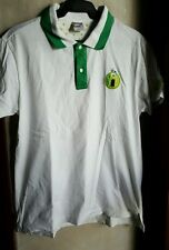 NIKE WOMEN'S LIMITED EDITION COLLARED TENNIS SHIRT, GREEN WHITE size Medium