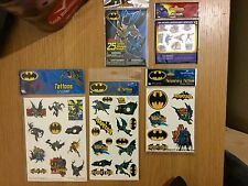 Awsome Gift Idea Batman Tattoo Sticker Bundle Set Ideal Stocking Fillers! V RARE