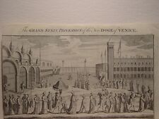 «The Grand State Procession of the New Doge of Venice» Publicado por Gentleman´s