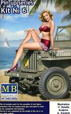 MASTERBOX pin-up girls mujeres 1 figure Samantha 1:24 (32/35) modelo-kit EE. UU.
