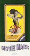 FYRE 1979 Meda Home Entertainment Lynn Theel NUDE Allen Goorwitz rape vhs No DVD