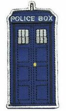 Dr WHO ecusson Tardis police box avec velcros Doctor WHO tardis velcro patch