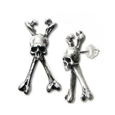 GENUINE Alchemy Gothic Earring - Longbone | Men's Ladies Alternative Studs